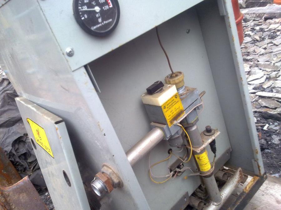Также продаю газовый счетчик G4 ELGAZ бу... Продаю котел газовый отопительный одноконтурный КОВ-20 СП.