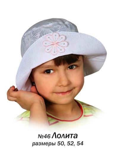 Артикул.  Панамка для девочек из лехкой хлопковой ткани.Состав: 100% хлопок.