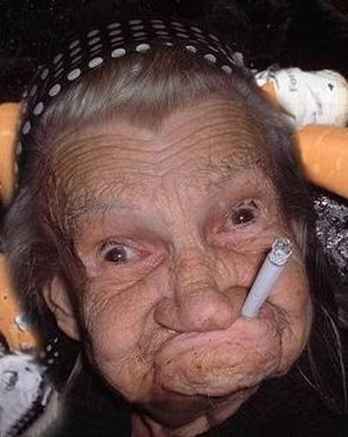 самая морщинистая женщина фото
