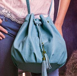 Размер сумки 30х40 см. Диаметр основания сумки 20,5 см. Высота плечевого...