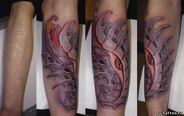 Что означает татуировка дракон