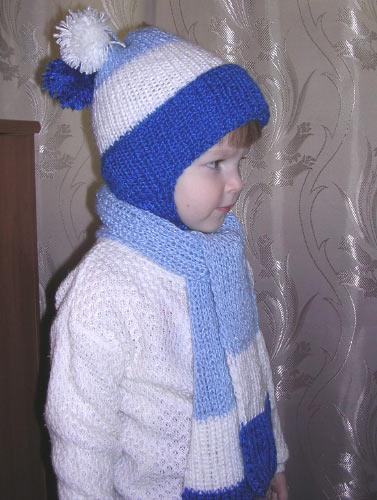 Комментарий: схема вязания спицами летней детской.